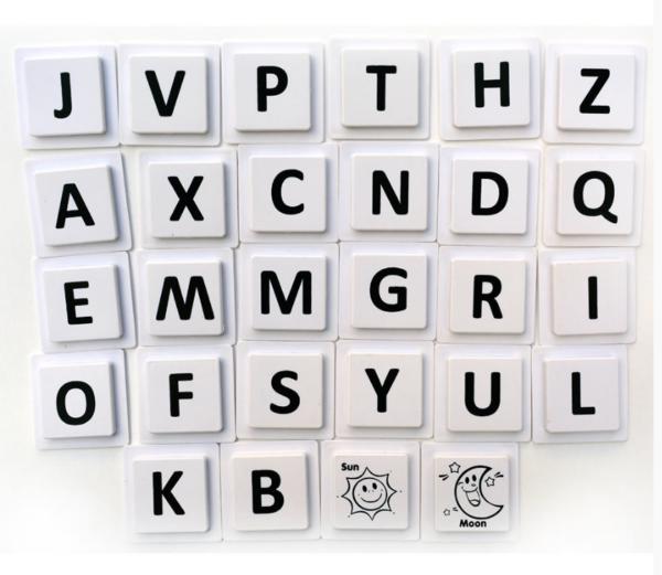 Mag-Wisdom алфавит набор деталей
